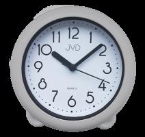 Koupelnové  hodiny JVD stříbrné SH018.1 obrázek