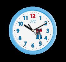 Dětské nástěnné hodiny JVD H12.6 obrázek