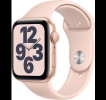 Apple Watch SE 44mm Gold, Pink Sand Sport Band obrázek