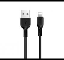 Data kabel HOCO X20 Flash, Lightning, 2A, 2m, černá obrázek