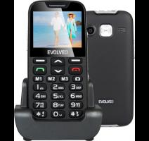Evolveo EP-600 EasyPhone XD, Black pro seniory + nabíjecí stojánek obrázek