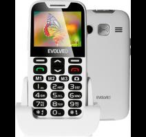 Evolveo EP-600 EasyPhone XD, White pro seniory + nabíjecí stojánek obrázek
