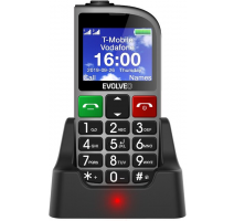 Evolveo EP-800 EasyPhone FM, Silver pro seniory + nabíjecí stojánek obrázek