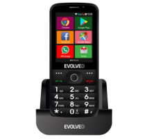 Evolveo EP-900 EasyPhone AD, Black, OS Android - pro seniory + nabíjecí stojánek obrázek