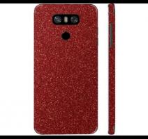 Fólie ochranná 3mk Ferya pro LG G6, červená třpytivá obrázek