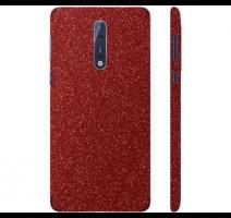 Fólie ochranná 3mk Ferya pro Nokia 8, červená třpytivá obrázek