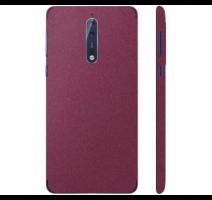 Fólie ochranná 3mk Ferya pro Nokia 8, vínově červená matná obrázek
