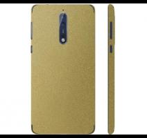 Fólie ochranná 3mk Ferya pro Nokia 8, zlatá lesklá obrázek
