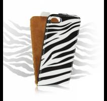ForCell Slim Flip Pouzdro Zebra vzor5 pro Samsung i9505 Galaxy S4 obrázek