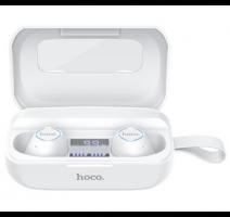 HF, sluchátka Bluetooth HOCO ES37 Treasure song, TWS, stereo, nabíjecí pouzdro S LCD, bílá obrázek