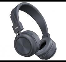 HF, sluchátka Bluetooth HOCO Promise W25, šedá obrázek