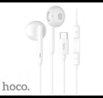 HF, sluchátka HOCO L10 Acoustic, stereo, USB-C, bílá obrázek