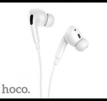HF, sluchátka HOCO M1 Pro Original series, stereo, jack 3,5 mm, bílá obrázek
