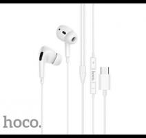 HF, sluchátka HOCO M1 Pro, stereo, USB-C, bílá obrázek