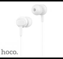 HF, sluchátka HOCO M14 Initial sound, stereo, jack 3,5 mm, bílá obrázek