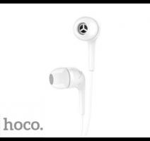 HF, sluchátka HOCO M40 Prosody, stereo, jack 3,5 mm, bílá obrázek