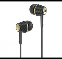 HF, sluchátka HOCO M70 Graceful, stereo, jack 3,5mm, černá obrázek