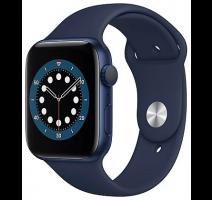 Hodinky Apple Watch Series 6 40mm Blue, Deep Navy Sport pásek (2020) obrázek
