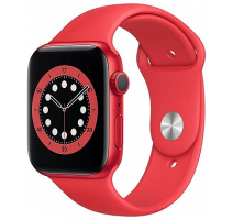 Hodinky Apple Watch Series 6 44mm PRODUCT(RED), PRODUCT(RED) Sport pásek (2020) obrázek