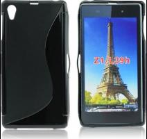 S-CASE Silikonovy Black pro Sony Xperia U ST25i obrázek