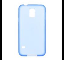 JEKOD TPU Pouzdro vč. Rámečku Blue pro Samsung G900 Galaxy S5 obrázek
