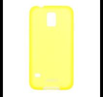 JEKOD TPU Pouzdro vč. Rámečku Yellow pro Samsung G900 Galaxy S5 obrázek