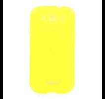 JEKOD TPU Pouzdro vč. Rámečku Yellow pro Samsung i9300 Galaxy S3 obrázek
