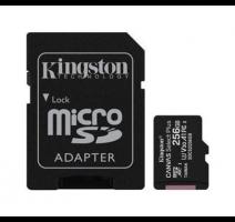 Karta paměť.microSDXC 256GB Kingston Canvas Select Plus, adapter vč poplatků obrázek