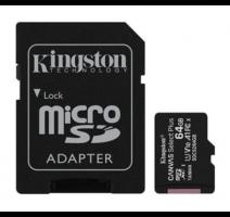 Karta paměť.microSDXC 64GB Kingston Canvas Select Plus, adapter vč. poplatků obrázek