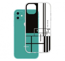 Kryt ochranný 3mk Ferya Slim case pro Apple iPhone 11, LINE Black obrázek