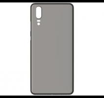 Kryt ochranný 3mk NaturalCase pro Huawei P20, transparentní černá obrázek