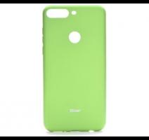 Kryt ochranný Roar Colorful Jelly pro Huawei Y7 Prime 2018, limetková obrázek
