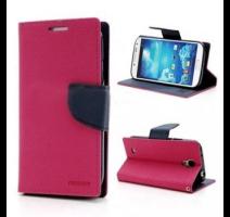 Mercury Fancy Diary Pouzdro pro Sony D5503 Xperia Z1compact Hot Pink/Navy obrázek