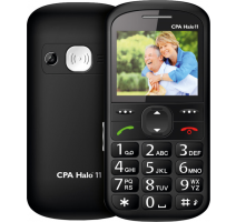 myPhone 1011 SENIOR - CPA Halo 11 černý obrázek