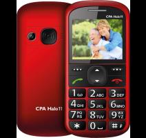 myPhone 1011 SENIOR - CPA Halo 11 červený  obrázek