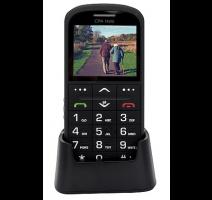 myPhone 1011 SENIOR - CPA Halo 11 Pro Senior, černý s nabíjecím stojánkem obrázek