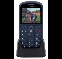 myPhone 1011 SENIOR - CPA Halo 11 Pro Senior, modrý s nabíjecím stojánkem obrázek