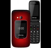 myPhone 1015 SENIOR - CPA Halo 15, červený + nabíjecí stojánek obrázek