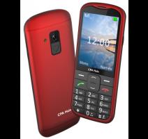 myPhone 1018 SENIOR - CPA Halo 18, Red / červený - s nabíjecím stojánkem obrázek