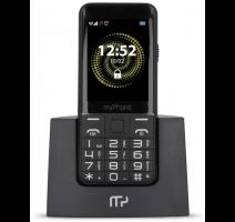myPhone Halo Q SENIOR - stříbrný s nabíjecím stojánkem obrázek