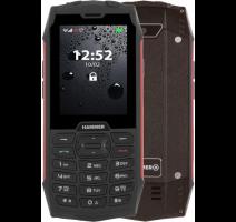 myphone HAMMER 4 Red / červený  - odolný vodotěsný IP68 (dualSIM) obrázek
