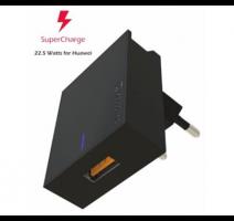 Nabíječ cestovní SWISSTEN 1x USB pro Huawei SUPER FAST charger 22,5W, černá obrázek