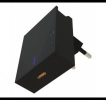 Nabíječ cestovní SWISSTEN USB-C (PD), 20W, černá obrázek