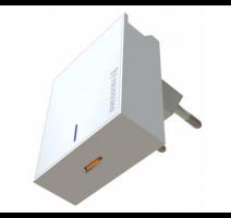 Nabíječ cestovní SWISSTEN USB-C (PD), 45W, bílá obrázek