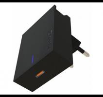 Nabíječ cestovní SWISSTEN USB-C (PD), 45W, černá obrázek