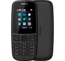 Nokia 105 DS Black (dualSIM) 2019 obrázek