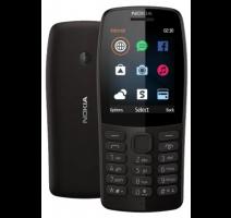 Nokia 210 DS Black (dualSIM) 2019 obrázek