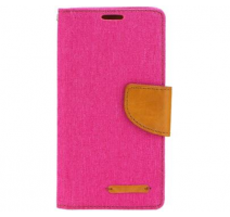 Pouzdro Canvas pro Huawei Y635 růžová (BULK) obrázek