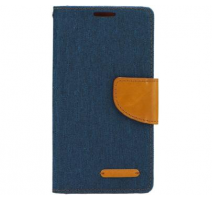 Pouzdro Canvas pro Huawei Y635 tmavě modrá (BULK) obrázek