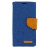 Pouzdro Canvas pro LG K4 (K120E) modrá (BULK) obrázek